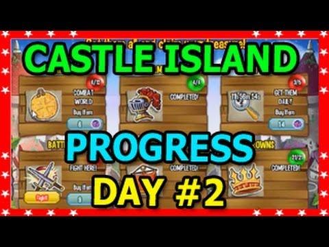 CASTLE ISLAND Dragon City Progress WHITE KNIGHT DRAGON Unlocked DAY 2