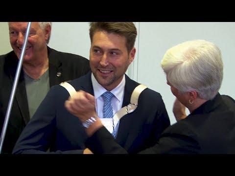 Saarbrücken: Amtsantritt von Oberbürgermeister Uwe Co ...