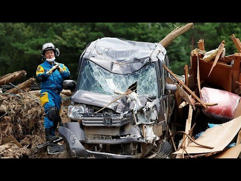 Ιαπωνία: 179 νεκροί από τις πλημμύρες και τις κατολισθήσεις…