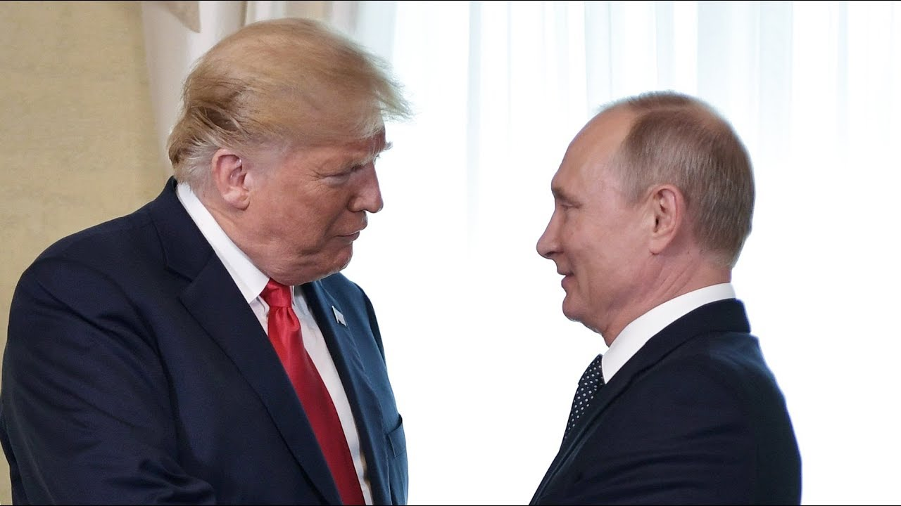 Пресс-конференция Путина и Трампа. (видео)
