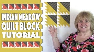 Quilting Blocks Tutorial: Indian Meadow or Waves of the Sea. This is so versatile as you can make a number of different patterns from just the one block. Plus it's pretty easy to put together - just a lot of half-square triangles.For the more detailed video on how to square up half square triangles click the following link: https://youtu.be/eaFOk3ZKrQ0--FULL WRITTEN INSTRUCTIONS--http://www.alandacraft.com/quilt-block-indian-meadow-waves-on-the-sea-and-variations/---WATCH MORE QUILT BLOCK TUTORIALS HERE---https://www.youtube.com/playlist?list=PLMxvvtt3Z3CKZx04rEe8Vod1SP1EX767l---FOLLOW US ON---Website: http://www.alandacraft.comFacebook: http://www.facebook.com/alandacraftPinterest: http://www.pinterest.com/alandacraft/Instagram: http://instagram.com/alandacraftTwitter: http://twitter.com/AlandaCraftTumblr: http://www.tumblr.com/blog/alandacraft