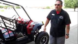 3. 2011 Polaris RZR 800 Robbie Gordon 4 Seater 5 miles!!