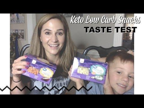 Low carb diet - Low Carb Walmart Snacks Taste Test