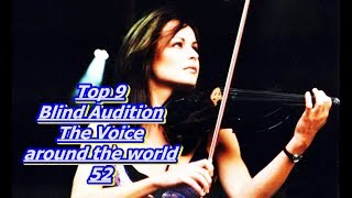 Video Top 9 Blind Audition (The Voice around the world 52)(REUPLOAD) MP3, 3GP, MP4, WEBM, AVI, FLV Januari 2019