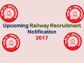 Upcoming Railway Recruitment Notification 2017 waptubes