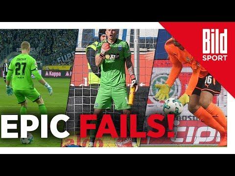 Die krassesten Torwart-Fails der Bundesliga-Saison  ...