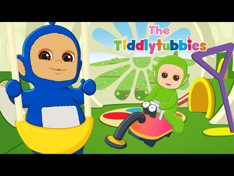 Teletubbies ★ NYTT Tiddlytubbies Cartoon Series ★ Episode 1: The Baby Bouncer ★ Tegneserier for barn