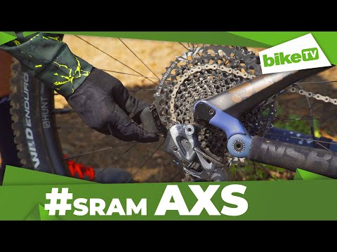 Test video SRAM Eagle AXS plus appka!
