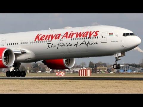 Blinder Passagier: Mann aus Kenia fällt aus Flugzeug  ...