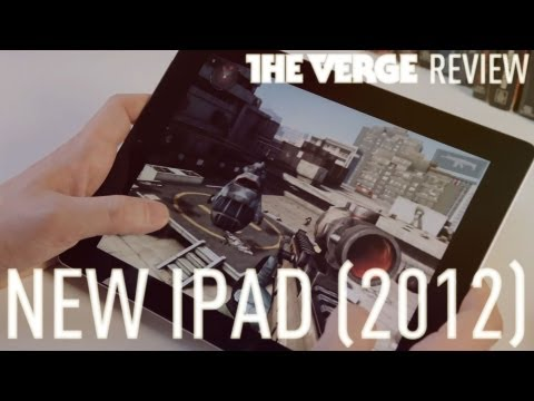 new ipad review - The Verge's Joshua Topolsky reviews the new iPad. Check out the full review here: http://www.theverge.com/2012/3/14/2870533/ipad-review Subscribe to our chan...