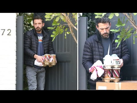 Ben Affleck Has Dunkin' Donuts Breakfast Delivered Two Days In A Row