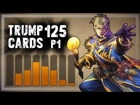 cards - Spoiler. Trump won't draft Ragnaros - sorry for teasing you. The title is just quoting him from a certain point in this run. Tihi. ▻ Part 2: https://www.youtube.com/watch?v=tz9Wcy0lYMs ...