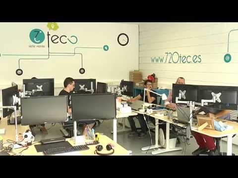 TV Mediterr�neo visita el Vivero de CEEI Castell�n