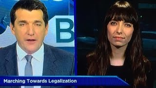 Jodie Emery on Global TV: Home Marijuana Gardens Are NOT Dangerous! by Pot TV