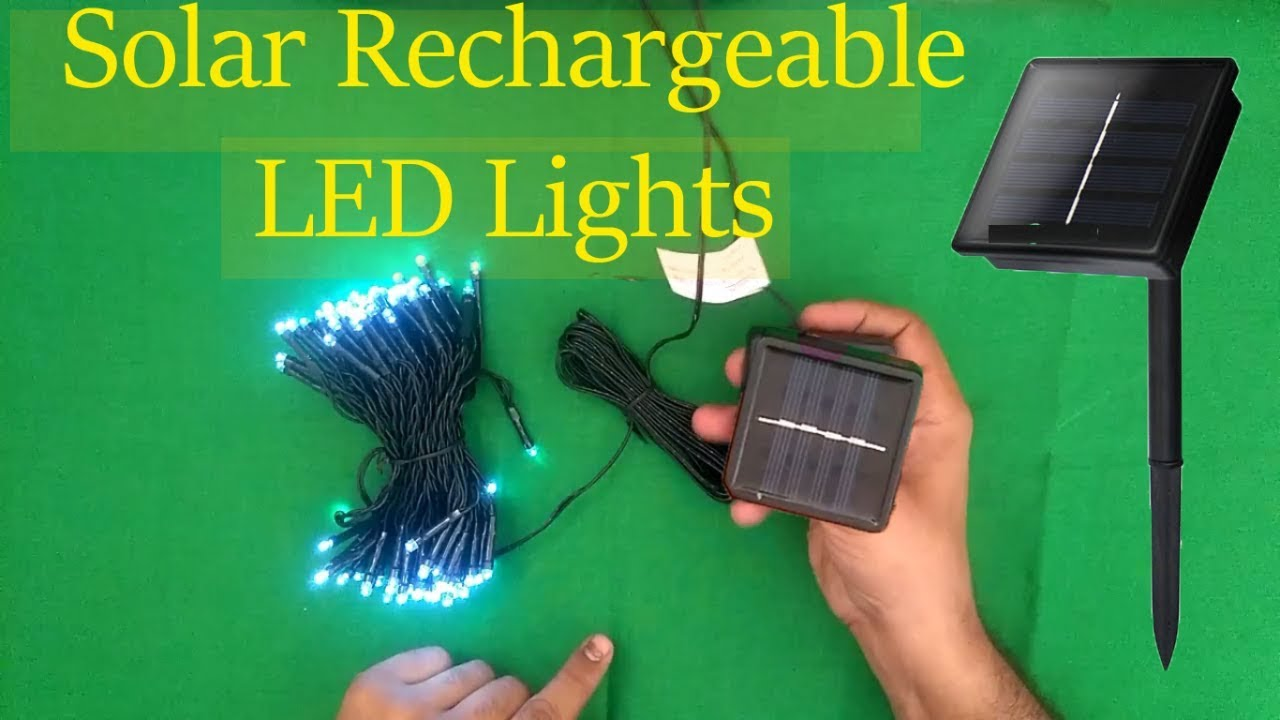 Solar Led Light for home| solar lights for Home and Garden | led Christmas lights Free Energy