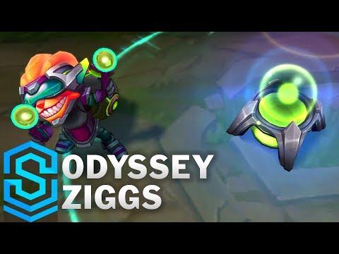 Ziggs Kĩ Sư Không Gian - Odyssey Ziggs