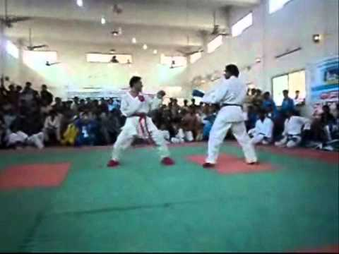Wkf Ali Waqas Samma Vs Larkana In 15th Sindh Games 2012