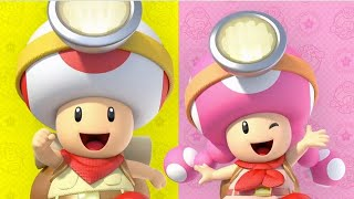 Captain Toad: Treasure Tracker DLC and Co-op Announcement by GameTrailers
