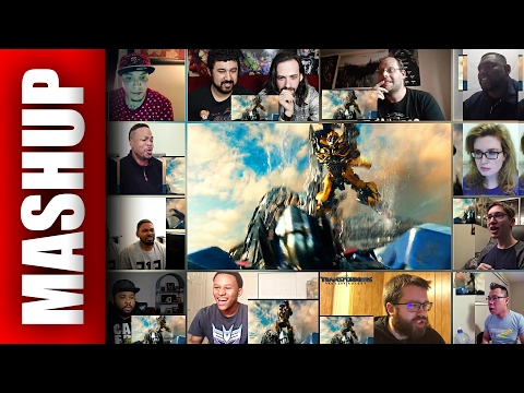TRANSFORMERS 5: The Last Knight Trailer 2 Reactions Mashup