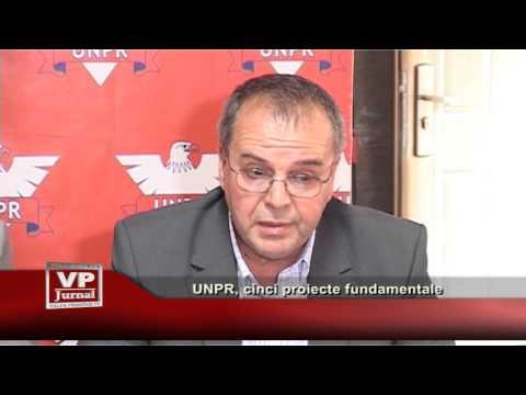 UNPR, cinci proiecte fundamentale
