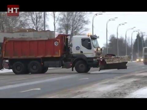 Новгородские спасатели предпринимают меры по предупреждению чрезвычайных ситуаций на федеральных трассах