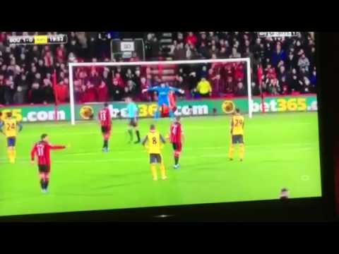 Bournemouth penalty vs arsenal