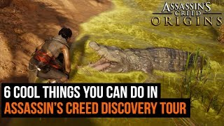 6 Cool Things You Can Do In Assassin's Creed Origins Discovery Tour