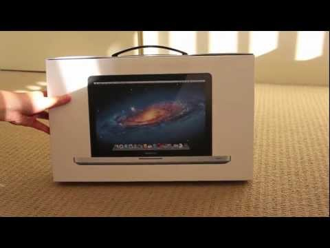 2012 macbook Pro Unboxing - Didn't want to wait for the newer macs to come out LOL enjoy the video and subscribe!