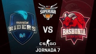 MOVISTAR RIDERS VS THUNDERX3 BASKONIA - MAPA 1 - SUPERLIGA ORANGE - #SUPERLIGAORANGECSGO7