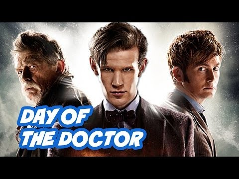 anniversary - Doctor Who 50th Anniversary Episode Review - The Day Of The Doctor. David Tennant, John Hurt and Matt Smith Top 5 Moments, Peter Capaldi and Series 8. ▻ http...