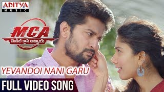 image of Yevandoi Nani Garu Full Video Song | MCA Full Video Songs | Nani, Sai Pallavi | DSP | Dil Raju