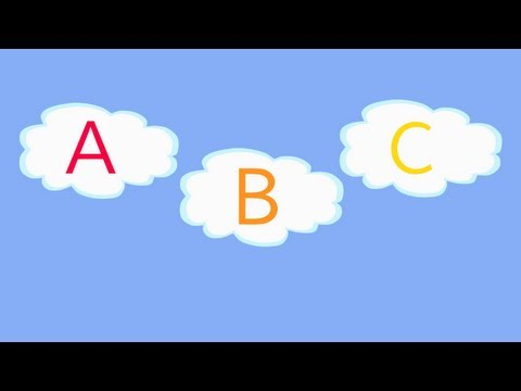 ABC Song in the Clouds