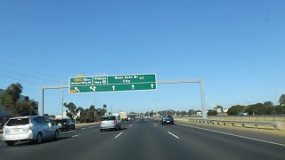 Geelong to Melbourne via. Princes Freeway