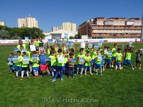 Clausura Academia de fútbol base Isla Cristina 2018