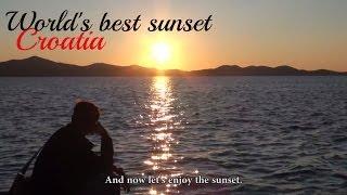 Puesta de sol de Zadar