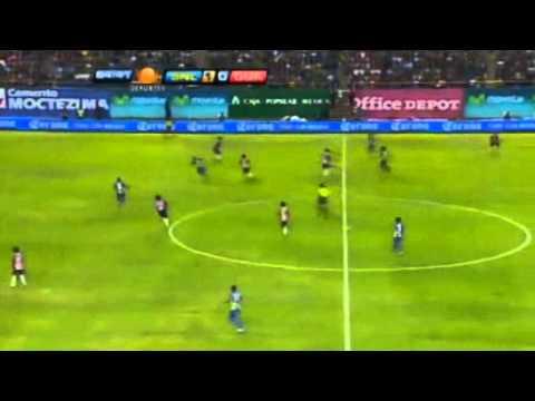 San Luis 2 Vs Chivas en el estadio de Alfonso Lastras