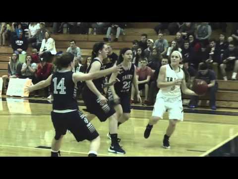 Trine Women's Basketball Highlights vs. Saint Mary's