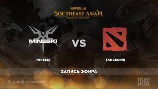 Mineski vs Tang, game 1
