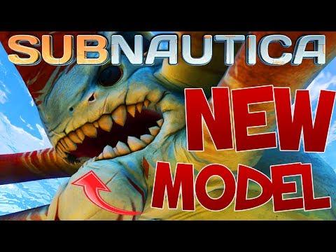 NEW Reaper Leviathan Model, Sea Dragon Leviathan Animations, Textures | SUBNAUTICA News And Updates (видео)