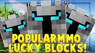 OP POPULARMMOS LUCKY BLOCK MOD CHALLENGE (BACCA STADIUM PVP) | Minecraft - Lucky Block Mod