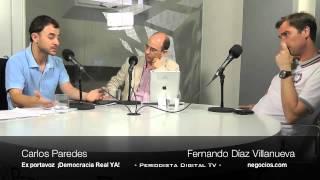 Tertulia Política Carlos Paredes y Fernando Díaz Villanueva. 23 julio 2012