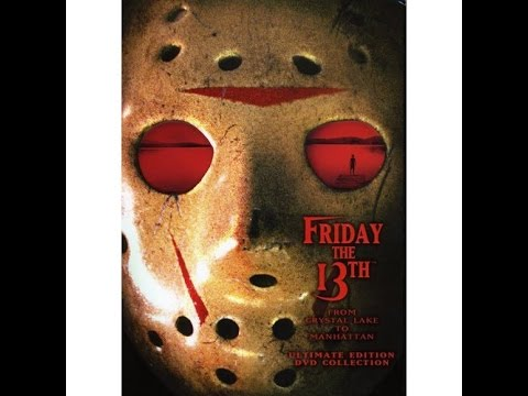 QKS72 - Friday The 13th: Parts 1-8, directed by Sean S. Cunningham, Steve Miner, Joseph Zito, Danny Steinmann, Tom McLoughlin, John Carl Buechler, and Rob Hedden, an...