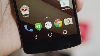 Video de Youtube de Android L Keyboard