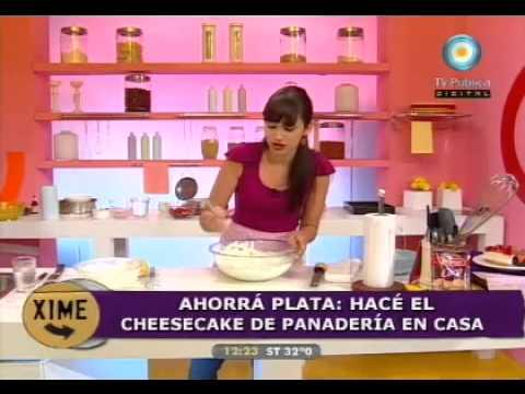 Fresca cheesecake de panadería en casa!!! (Parte 1).