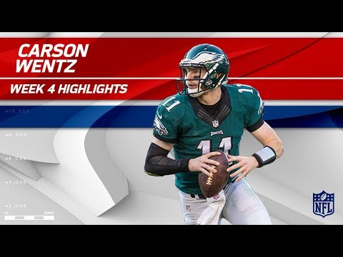 Video: Carson Wentz Leads Philly to Victory! | Eagles vs. Chargers | Wk 4 Player Highlights