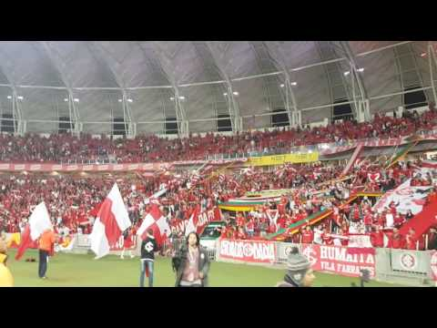 Recebimento - Inter x Vitória - Guarda Popular do Inter - Internacional