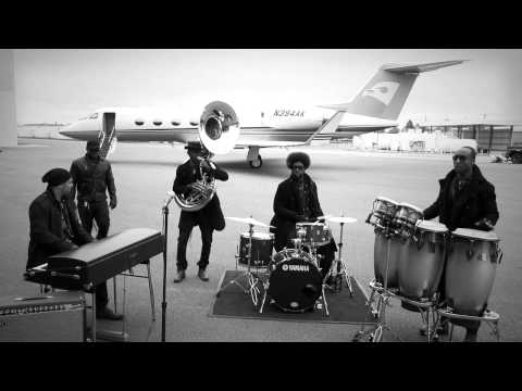 The Roots - The Roots perform an exclusive track during the John Varvatos Fall/Winter 2011 Campaign shoot at Republic Airport in New York View all the John Varvatos camp...