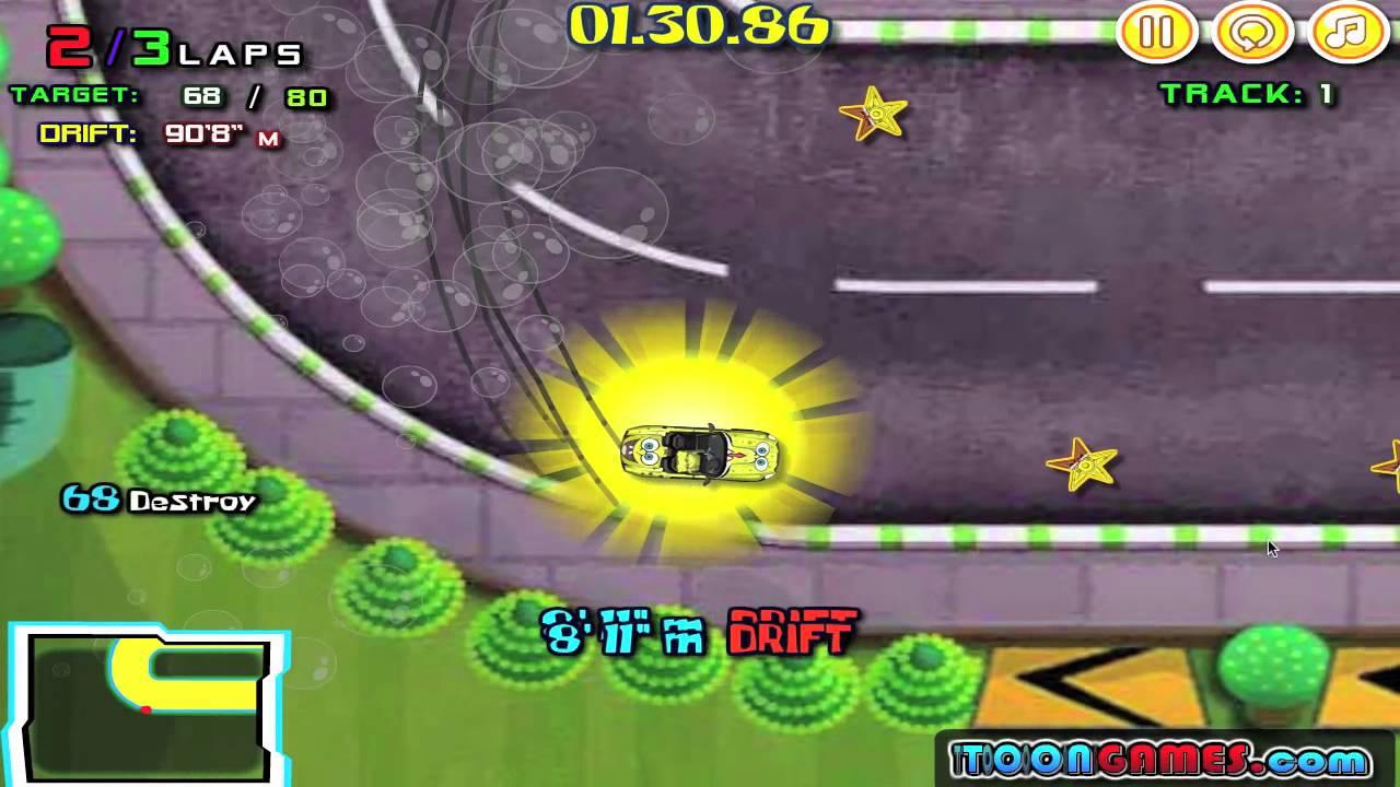 Descargar Juegos de Bob Esponja carreras de coches y velocidad para celular #Android