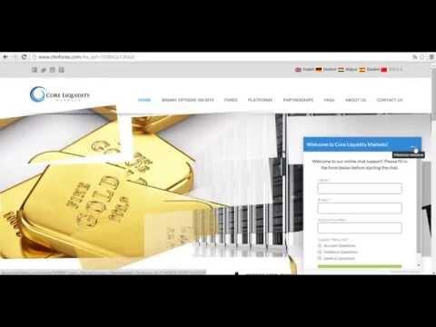 EXCELENTE Broker para Forex y Opciones Binarias Core Liquidity Markets