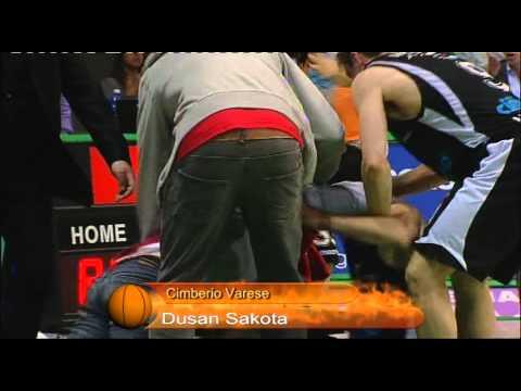 Sakota: canestro e vittoria!